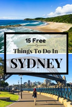 15 Awesome Free Things to Do in Sydney in 2019 Here is a list of 15 free things to do in Sydney. Sydney should be on everyone's list of places to visit in Australia. It is a happening city with so much to do. You will never be bored. Australia Travel Guide, Visit Australia, Australia Trip, Western Australia, Queensland Australia, South Australia, Places To Travel, Travel Destinations, Places To Visit