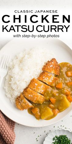 Chicken Katsu Curry with step-by-step photos | Eat, Little Bird #katsucurry #katsu Chicken Katsu Curry Recipes, Katsu Recipes, Grilled Chicken Recipes, Baked Chicken Recipes, Beef Recipes, Turkey Recipes, Fall Recipes, Recipies, Lunch Recipes
