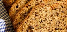 This baked banana bread is well concentrated and delicious!