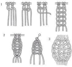 Основные узлы макраме | Мои хобби
