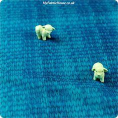 Buy cotton fabric - blue  Fat Quarter FQ £2.99 | My Fabric House