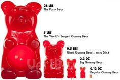 Empower Network - Giant Gummy Bear Edible Table Centerpiece Vat19