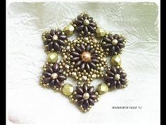 How to make a pendant with superduo beads beads tutorial