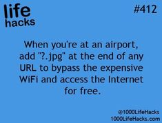 Here's A Helpful Tip For When You Travel!!!