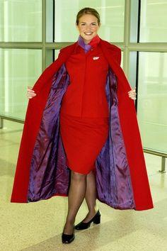 Virgin Atlantic (old style uniform)