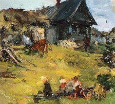 Русский дом (1910-е). Николай Фешин