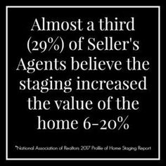 2017 home staging statistic