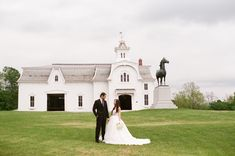 Love this white barn! Pam Cooley Photography, Riverside Farm Wedding in Vermont