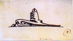 Einstein Tower by Erich Mendelsohn