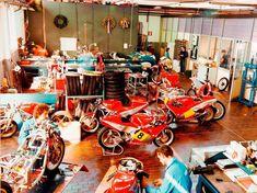 Motorcycle Garage, Bar Cart, Baby Strollers, Home Decor, Baby Prams, Decoration Home, Room Decor, Prams, Home Interior Design