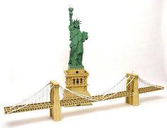 Esculturas de Lego!