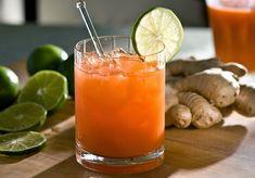 Jugo de zanahoria para tus días de desintoxicación