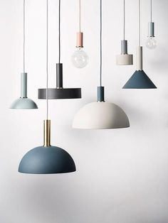 Design your own lamp with ferm LIVING Collection Lighting. The lampshade is compatible with all socket pendants from the COLLECT Lighting series. Interior Lighting, Home Lighting, Lighting Design, Scandinavian Pendant Lighting, Blitz Design, Danish Design Store, Brass Lamp, Pendant Lamps, Bedside Pendant Lights