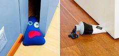 Geralmente você usa qualquer coisa para parar a sua porta, desde um pedaço de papelão até qualquer objeto que sirva como um peso. Mas depois de ver que os...