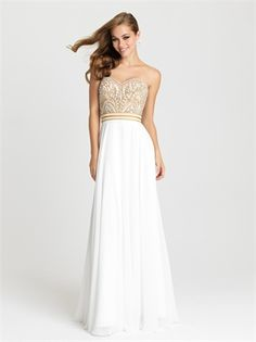 Madison James dresses by Allure has some of the best prom, homecoming, and evening gowns in styles like strapless, two piece, modest and plus sizes. Bridal Dresses Online, Prom Dresses 2016, A Line Prom Dresses, Ball Dresses, Sexy Dresses, Ball Gowns, Party Dresses, Unconventional Wedding Dress, Cheap Wedding Dress
