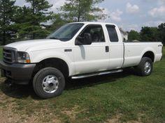 2004 Ford F-250 Super Duty 4WD Pickup Truck $5,500.00
