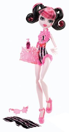 Monster High Beach Beasties Draculaura Doll - Doll