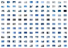 Snapshots of the sky by Sarah Levi.