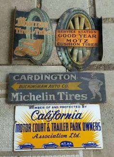 Rare Original Automobilia Advertising Collection