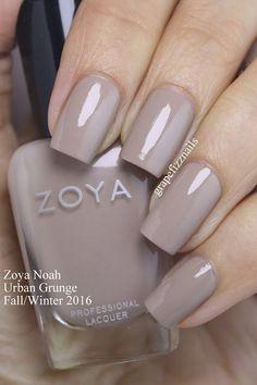 Zoya Urban Grunge Fall/Winter 2016 Creams