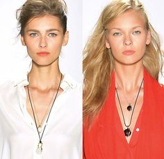 Marissa Webb's Spring/Summer 2014 runway collection at NYFW incorporated pieces from Yael Sonia's Rock Jewelry Collection.
