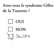 Syndrome Gilles de la Tourette