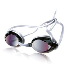 Speedo Jr. Vanquisher Mirrored Goggles. Yeah, I wear Jr goggles. And I really need a mirrored pair for open water.
