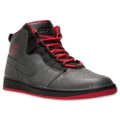 """Men's Air Jordan Retro 1 94 Basketball Shoes. Take the revolutionizing Air Jordan 1 basketball shoe from MJ (that cost him $5,000 per wear, by the way, thanks to the NBA's strict uniform code in 1985) and combine it with the iconic elements from his unofficial comeback shoe, the Air Jordan 10 (that released in 1994), and suddenly you've got the Air Jordan 1 Retro '94 in a """"Bred"""" colorway. Part barrier-breaking heritage, part neck-breaking accents. guess you could call this a two-for-one ..."""