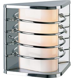 Vida Mid-Century Modern Wall Bracket - outside - $295 (can be copper or chrome among others)