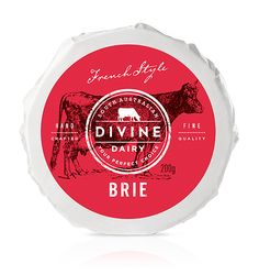 Packaging Creativo para Quesos: Divine Dairy || Diseñado por: Frank Aloi, Australia