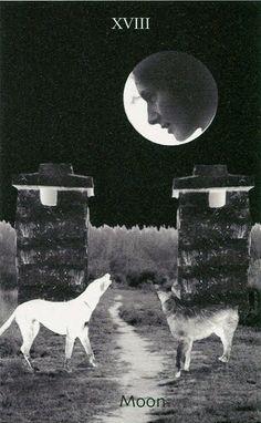 Bea Nettles, Moon, from series Tarot, 1975