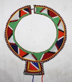African Maasai Masai Beaded Ethnic Tribal Wedding Necklace Medium Kenya 01 | eBay