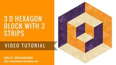 Video tutorial: 3D hexagons with 3 prints - YouTube