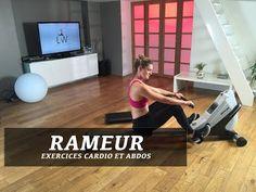 Entaînement rameur cardio   abdos - FITNESS STUDIO BY LUCILE - YouTube Le  Rameur 51ce17d78a2