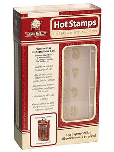 Walnut Hollow Hot Stamps Sets | eBay