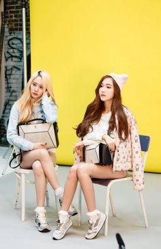 SNSD Jessica and f(x) Krystal