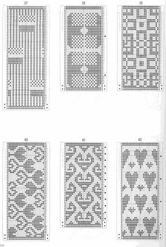 This post was discovered by Ne Knitting Machine Patterns, Knitting Charts, Loom Patterns, Knitting Stitches, Knitting Designs, Crochet Patterns, Crochet Chart, Filet Crochet, Cross Stitch Embroidery