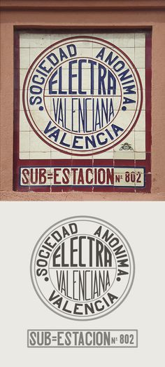 Electra Valenciana Sociedad Anónima Sub=Estación Nº 802. Valencia