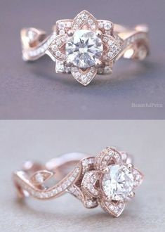 15 Stunning Rose Gol 15 Stunning Rose Gold Wedding Engagement Rings that Melt Your Heart Wedding Rings Teardrop, Pear Ring, Diamond Engagement Rings, Wedding Engagement, Unique Rings, Gold Wedding, Gold Rings, Fine Jewelry, Rose Gold