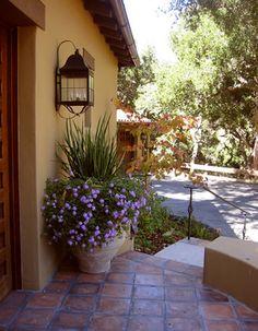 Front Door - mediterranean - landscape - other metro - by Arterra LLP Landscape Architects