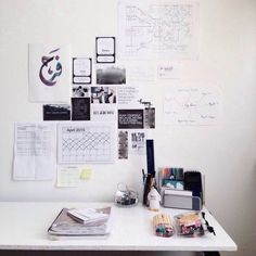 f-rhn: 17.4.15 || Tidied my desk today and I just love how clean it looks!