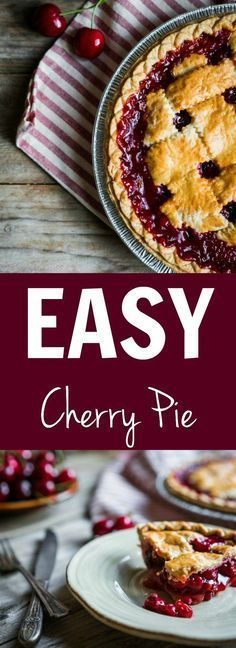 Cherry pie and summer go together like well, cherry pie and summer! Am I right? Those sweet juicy cherries smothered by flaky, buttery pastry. Delicious!