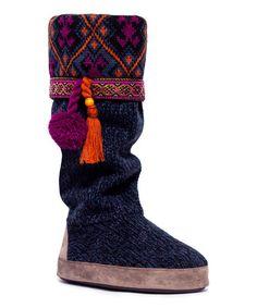 Love this Twilight Twist Marissa Tassel Slipper Boot - Women by MUK LUKS on #zulily! #zulilyfinds