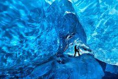 ヴァトナヨークトル氷の洞窟