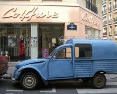 Blue Truck, Paris: Marais, Paris.