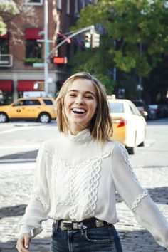 Haley Lu Richardson as Eris Dodd-Radson - The Thousandth Floor by Katherine McGee Haley Richardson, Great Women, Look At You, Celebs, Celebrities, Women's Summer Fashion, Hollywood, Girl Crushes, Beautiful People