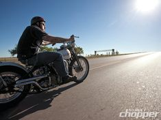 Knuckle Deep | 1947 Harley-Davidson Custom | Street Chopper