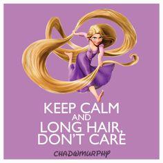 Top Ten Keep Calm, Disney Style: Long Hair, Don't Care