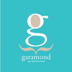 Garamond type specimen book on Behance Garamond Font, Typography, Company Logo, Behance, Type, Logos, Design, Graphic Design, Letterpress