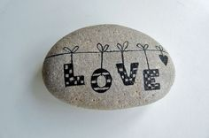 Diy painted rocks ideas with inspirational words and quotes (3)